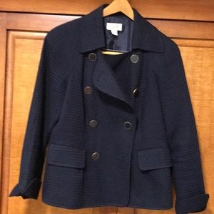 Talbots double-breasted jacket fully lined